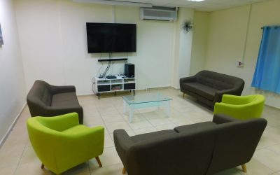 New Recreation Room for Border Patrol (East Jerusalem)