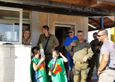 Yashar LaChayal's Warm Corner Rest Station for IDF Soldiers in Adam