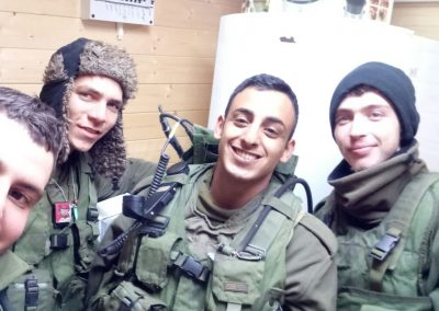 Smiling IDF soldiers don't lie! They love our Warm Corners!