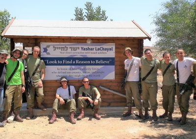 IDF soldiers love the Warm Corner in Otniel