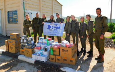 Needy Soldier Supply Closet for Kfir Infantry Brigade