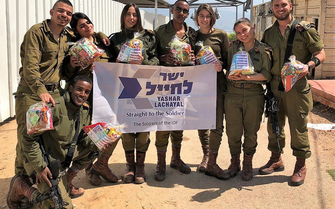 Mishloach Manot for Over 7,000 Soldiers on Purim