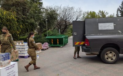 Passover Food Packages to over 700 Needy Soldiers