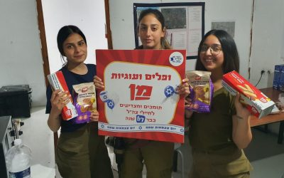 Cookies to Celebrate Israel's Independence Day